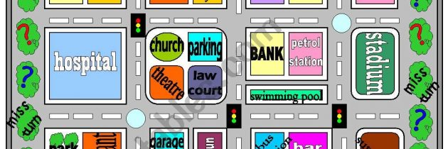 PLaces in town-game