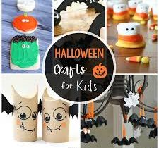 Halloween crafts-video