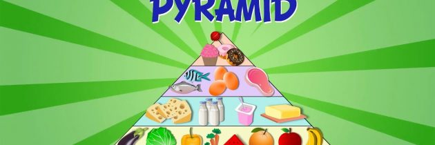 The food pyramid-video