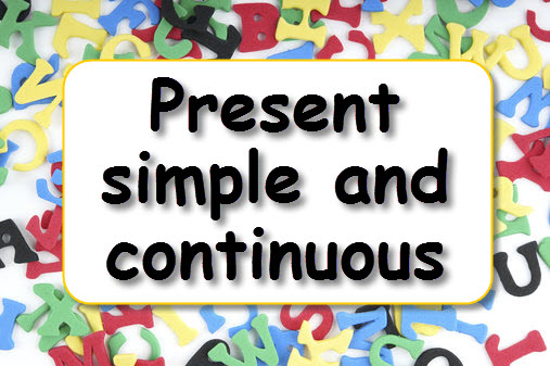 Present simple/continuous-game