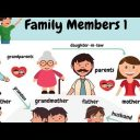 Family vocabulary-game