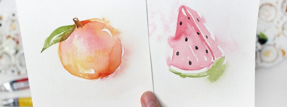 Easy Watercolor Tutorial